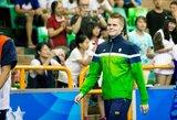 D.Rapšys aukso medalį Rumunijoje pažymėjo Lietuvos rekordu