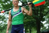 "Irkluotojas D.Nemeravičius: ""Kasdien noriu būti geresnis atletas negu buvau vakar"""