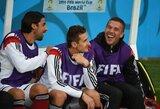 """L.Podolskis: """"Įtampą jausime ne mes, o Brazilija"""""""
