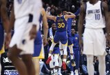 48 taškus pelnęs S.Curry pražudė rezultatyvaus L.Dončičiaus komandą