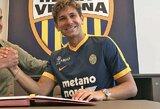 """""""Serie A"""" naujokų gretas papildė du puikiai žinomi italai, """"Sevilla"""" pranešė apie antrąjį vasaros pirkinį"""