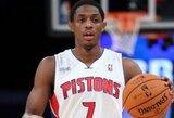 """""""Pistons"""" po 4,5 metų pertraukos šventė pergalę prieš """"Bulls"""""""