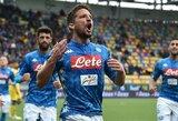 """""""Napoli"""" užtikrintai nugalėjo """"Serie A"""" lygos autsaiderius"""