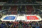 Sankt Peterburge – beveik keturgubai pagerintas visų laikų KHL rungtynių lankomumo rekordas, muštynės ir C.Nurmagomedovo pasirodymas