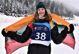 Įspūdingas pasirodymas: M.Morauskas pirmą kartą laimėjo Europos snieglenčių sporto taurės etapą