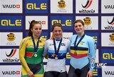 M.Marozaitė ir V.Šumskytė iškovojo Europos jaunių ir jaunimo dviračių treko čempionato sidabrą! (papildyta)