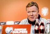"""R.Koemanas atskleidė, kad atmetė pasiūlymą tapti """"Barcelona"""" treneriu"""
