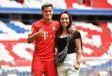 """Pamatykite: """"Barcelona"""" žaidėjų antrosios pusės išlydėjo P.Coutinho žmoną į Miuncheną"""