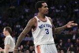 """""""Knicks"""" palikęs B.Jenningsas papasakojo, kas gadino atmosferą komandoje"""
