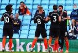 "2 įvarčius per 2 minutes pelnęs ""Chelsea"" įveikė ""Aston Villa"" futbolininkus"