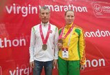 Koronavirusas jaukia paralimpietės A.Garunkšnytės planus: nevyks į Tokijo maratoną