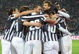 """""""Juventus"""" nugalėjo """"Parma"""", """"Fiorentina"""" neatsilaikė prieš """"Milan"""""""