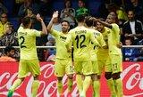 """Ispanijoje """"Villarreal"""" nepasidavė ir rungtynių pabaigoje pelnė įvartį į """"Valencia"""" vartus"""