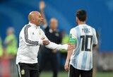 L.Messi ir Argentinos rinktinė pasaulio čempionato metu išreiškė nepasitikėjimą J.Sampaoli