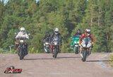 Iki motociklų lenktynių sezono liko mažiau nei mėnuo