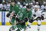 """NHL lygoje """"Sharks"""" patyrė penktą pralaimėjimą iš eilės"""