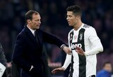 M.Allegri atskleidė C.Ronaldo sėkmės paslaptį