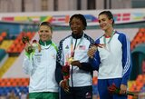 L.Grinčikaitė iškovojo Universiados sidabrą, E.Balčiūnaitė įvykdė pasaulio čempionato normatyvą (atnaujinta)