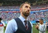 Anglijos rinktinės strategas G.Southgate'as neslėpė nusivylimo dėl iškovotos trečios vietos
