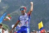 """Alinančiame """"Tour de France"""" etape – vietinių herojų triumfas"""