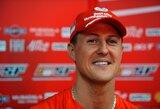 Vokietijos žiniasklaida: M.Schumacheriui sužibo nauja viltis