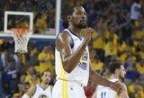 K.Durantas praleis ir ketvirtąsias NBA finalo rungtynes