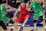 CSKA neturėjo vargo VTB lygos ketvirtfinalyje