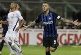 """3 smūgius į vartų plotą atlikęs """"Inter"""" klubas pelnė du įvarčius ir iškovojo pergalę"""