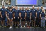 Lietuvos irklavimo rinktinė išvyko į pasaulio čempionatą kovoti dėl olimpinių kelialapių