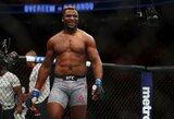"""F.Ngannou treneris: """"Po metų jis galės bokso ringe kovoti su A.Joshua ar D.Wilderiu"""""""