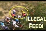 """Absurdiška bauda """"Tour de France"""" lenktynėse: lyderis pasikeitė jau po finišo"""