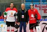 Du Lietuvos ledo ritulio rinktinės nariai bando įsitvirtinti Baltarusijos ekipoje