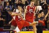 Rezultatyviausią sezono mačą sužaidusio M.Grigonio komanda palaužė E.Bendžiaus klubą