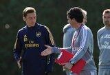 """U.Emery pripažino: """"M.Ozilas nenusipelnė būti """"Arsenal"""" sudėtyje"""""""