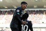 """Be klaidų žygiuojantys """"Liverpool"""" Anglijoje iškovojo ketvirtą pergalę iš eilės"""