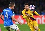 """L.Messi prisipažino norėjęs palikti """"Barceloną"""""""