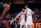 Ispanija po dviejų pratęsimų dramos pateko į finalą