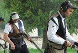 Vilniuje įvyko trečiasis Lietuvos šaudymo į skrendančius taikinius taurės etapas