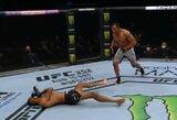 Keturis bereikalingus smūgius leidęs atlikti H.Deanas įsiutino UFC komentatorius
