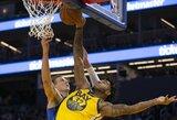 NBA nubaudė L.Dončičių pastūmusį puolėją