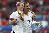 JAV planuoja surengti moterų pasaulio futbolo čempionatą
