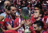 Po triumfo UEFA Supertaurėje: ypatinga A.Griezmanno dovana komandos draugams