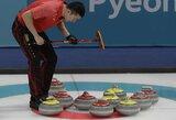 Pirmasis skandalas Pjongčango olimpiadoje – kinams pergalę kainavo vienas milimetras?