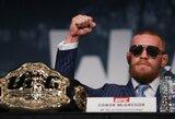 """JAV žiniasklaida: C.McGregoras po """"UFC 205"""" turnyro ilgam stabdys karjerą"""