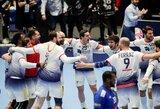 Sensacija Europos rankinio čempionate: prancūzai krito prieš portugalus