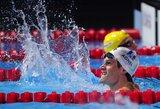 Pasaulio plaukimo čempionate Barselonoje – amerikiečių ir Y.Agnelio triumfas