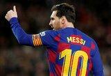 Susižavėjimo neslepiantis S.Eto'o tikisi, jog L.Messi žais futbolą iki 70-ies metų