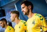 Pristatyta Lietuvos rinktinės sudėtis UEFA Tautų lygai ir naujos aprangos