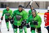 """Varžovų pasipriešinimą įveikęs """"Kaunas Hockey"""" išlaiko pirmaujančias pozicijas lygoje"""
