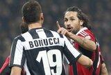 """Italijos grandų akistata: """"Juventus"""" – """"Milan"""""""